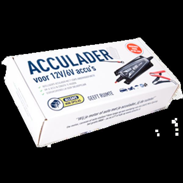Acculader verpakking allsafe